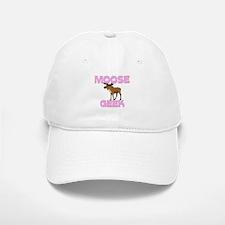 Moose Geek Baseball Baseball Cap