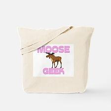 Moose Geek Tote Bag