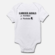 Architect Career Goals Rockstar Infant Bodysuit