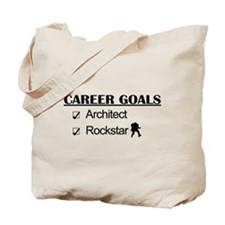 Architect Career Goals Rockstar Tote Bag