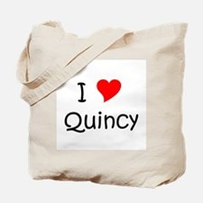 Funny Quincy Tote Bag