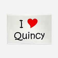 Unique Quincy Rectangle Magnet