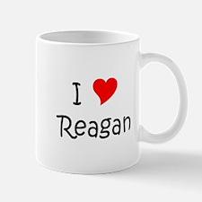 Funny I heart reagan Mug