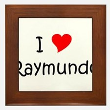 Unique Raymundo Framed Tile