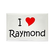 Cute Raymond Rectangle Magnet