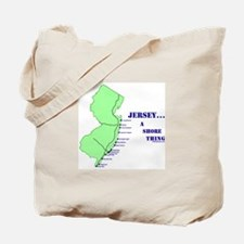 Funny New jersey shore Tote Bag