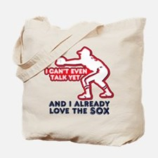 Baby Love Red Sox Tote Bag