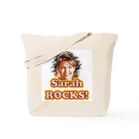 Sarah Rocks! Tote Bag
