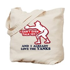 Baby Love Yankees Tote Bag