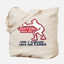 Baby Love Yankees Tote Bag