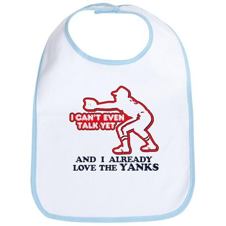 Baby Love Yankees Bib