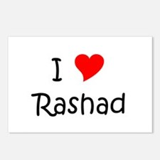 Cute Rashad Postcards (Package of 8)
