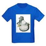English Trumpeter Silver Kids Dark T-Shirt