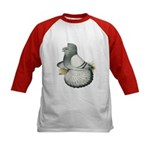 English Trumpeter Silver Kids Baseball Jersey