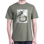 English Trumpeter Silver Dark T-Shirt