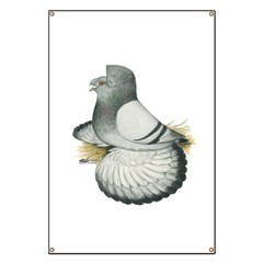 English Trumpeter Silver Banner