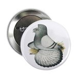 "English Trumpeter Silver 2.25"" Button (10 pac"