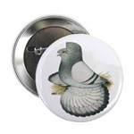 "English Trumpeter Silver 2.25"" Button"