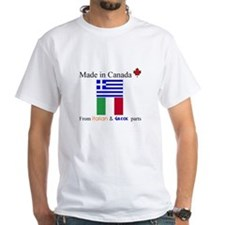 Made in Canada from Italian and Greek Parts Shirt