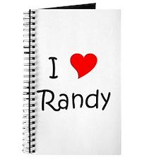 Cute Randy Journal