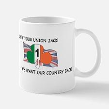 Unique Celtic eire gaelic Mug