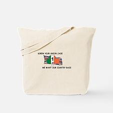 Funny Clover Tote Bag