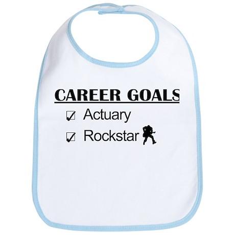 Actuary Career Goals Rockstar Bib