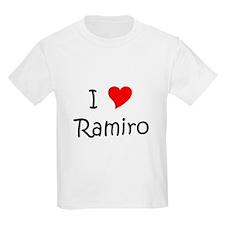 Ramiro name T-Shirt