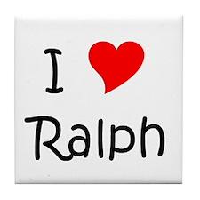 Cute Ralph Tile Coaster