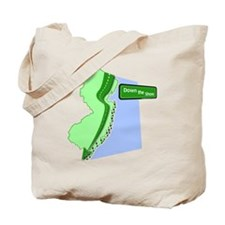 Cool Down the shore Tote Bag