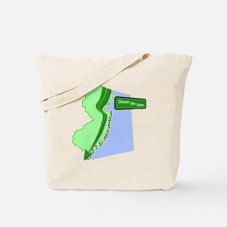 Cute Down the shore Tote Bag