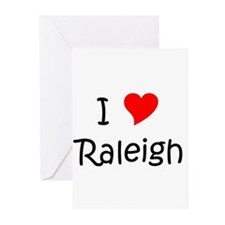 Unique Raleigh Greeting Cards (Pk of 10)