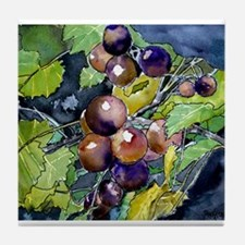 grapevine grapes fruit still Tile Coaster
