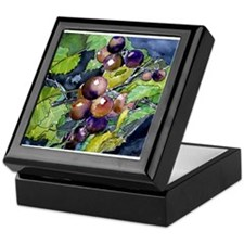 grapevine grapes fruit still Keepsake Box