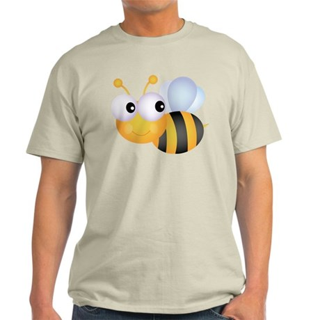Cute Bee Light T-Shirt