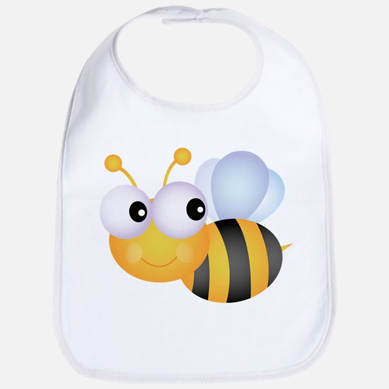 Cute Bee Bib