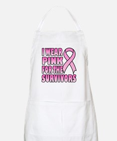 I Wear Pink for the Survivors BBQ Apron