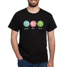 Peace, Love & Dance T-Shirt