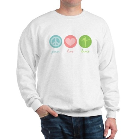 Peace, Love & Dance Sweatshirt
