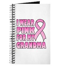 Grandma Pink Ribbon Journal