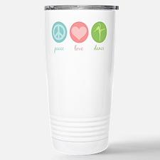 Peace, Love & Dance Stainless Steel Travel Mug
