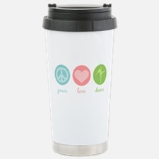 Peace, Love & Dance Travel Mug
