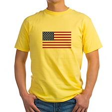 United States Flag Sticker T