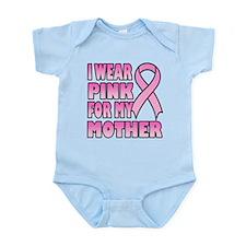Mother Pink Ribbon Infant Bodysuit