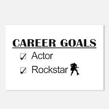 Actor Career Goals Rockstar Postcards (Package of
