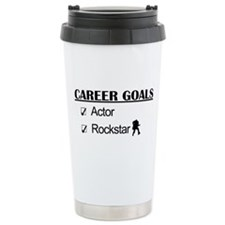 Actor Career Goals Rockstar Travel Mug