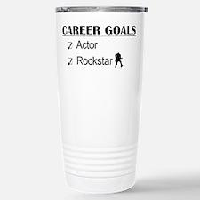 Actor Career Goals Rockstar Travel Mug