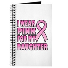 I Wear Pink for My Daughter Journal