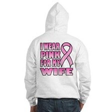 I Wear Pink for My Wife Hoodie