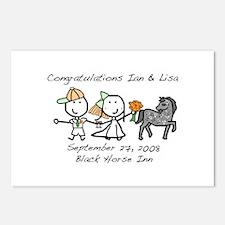 Wedding - Ian & Lisa Postcards (Package of 8)